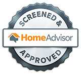 Screen & Approved Home Advisor Seal of Approval